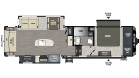 2019 Laredo 310RS Floor Plan