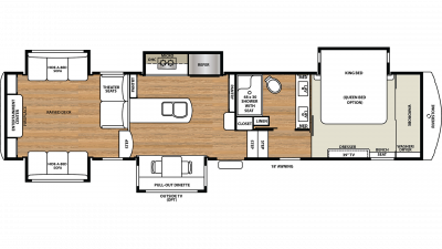 2019 RiverStone 37MRE Floor Plan Img