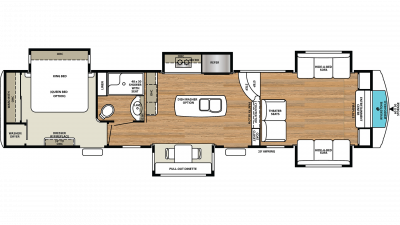 2019 RiverStone 39FL Floor Plan Img
