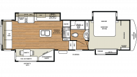 2019 Riverstone Legacy 34SLE Floor Plan
