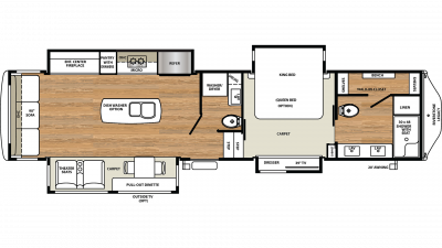 2019 Riverstone Legacy 38FB2 Floor Plan Img