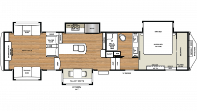 2019 Riverstone Legacy 38RE Floor Plan Img