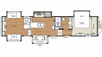 2019 Riverstone Legacy 38RE Floor Plan