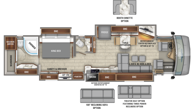 2020 Anthem 44B Floor Plan