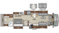 2020 Anthem 44W Floor Plan