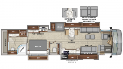2020 Aspire 44W Floor Plan Img