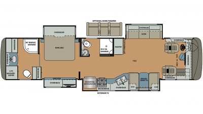 2020 Berkshire 39B-360 Floor Plan Img