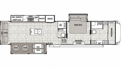 2020 Cedar Creek 38FBD Floor Plan Img