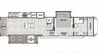 2020 Cedar Creek 38FBD Floor Plan