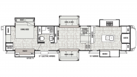2020 Cedar Creek Champagne 38EFK Floor Plan