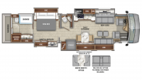 2020 Cornerstone 45A Floor Plan