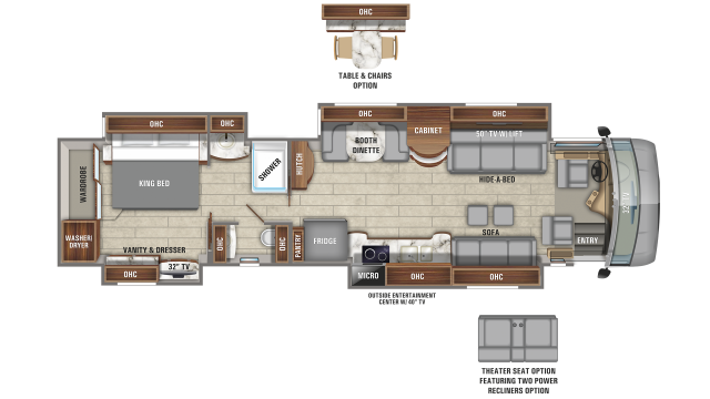 2020 Cornerstone 45X Floor Plan