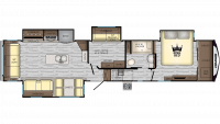 2020 Cruiser 3771MD Floor Plan