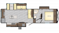 2020 Cruiser Aire 28RD Floor Plan