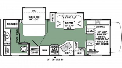 2020 Forester 2441DS Floor Plan Img