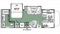 2020 Forester 2441DS Floor Plan