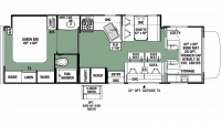 2020 Forester 3051S Floor Plan