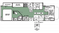 2020 Forester 3271S Floor Plan