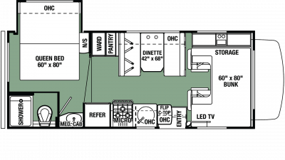 2020 Forester LE 2251S CHEVY Floor Plan Img