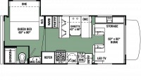 2020 Forester LE 2251S CHEVY Floor Plan