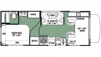 2020 Forester LE 2351 CHEVY Floor Plan