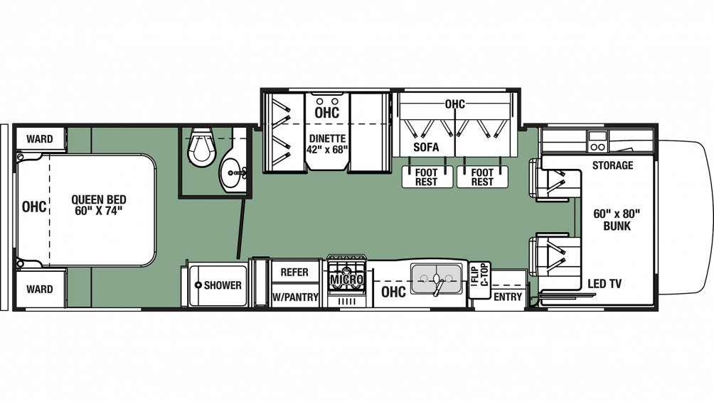 2020 Forester LE 2851S FORD Floor Plan Img