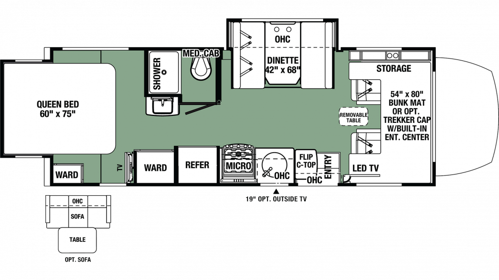 2020 Forester MBS 2401R Floor Plan Img
