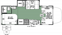 2020 Forester MBS 2401S Floor Plan