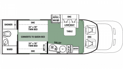2020 Forester TS 2371D Floor Plan Img