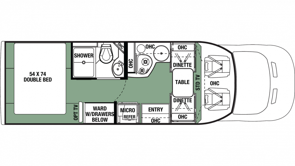 2020 Forester TS 2381 Floor Plan Img
