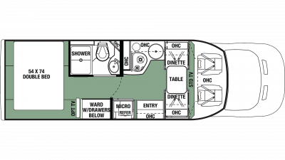 2020 Forester TS 2381D Floor Plan Img