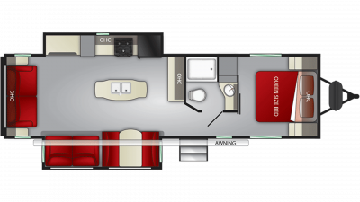 2020 Fun Finder Xtreme Lite 29RS Floor Plan Img