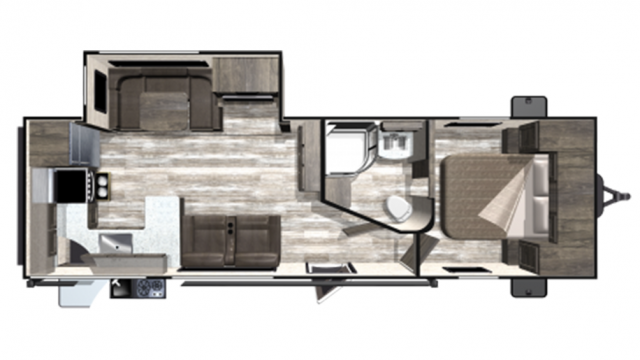 2020 Mesa Ridge Limited MR280RKS Floor Plan