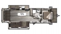 2020 Mesa Ridge Lite MR2910RL Floor Plan