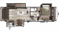 2020 Mesa Ridge MF284RLS Floor Plan