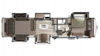 2020 Mesa Ridge MF375RDS Floor Plan