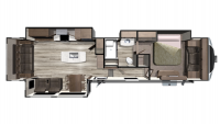 2020 Mesa Ridge MF384RLS Floor Plan