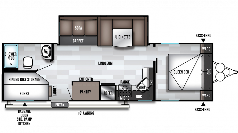 2020 Salem 27DBK Floor Plan Img