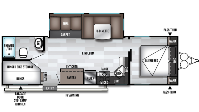 2020 Salem 27DBK Floor Plan