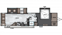 2020 Salem 32RLDS Floor Plan