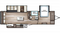 2020 SolAire Ultra Lite 316RLTS Floor Plan