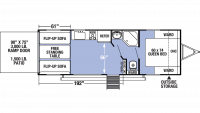 2020 XLR Micro Boost 25LRLE Floor Plan