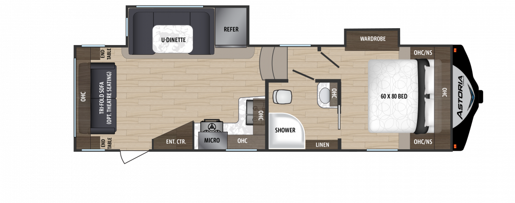 2018 Astoria by Aerolite 2513RLF Floor Plan Img