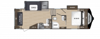 2018 Astoria by Aerolite 2513RLF Floor Plan