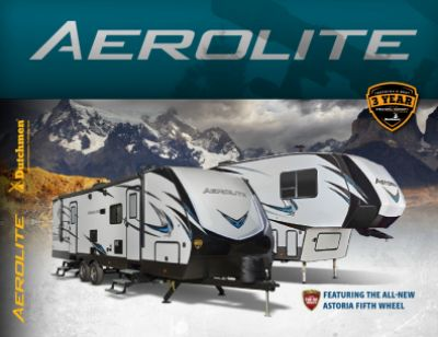 2019 Dutchmen Aerolite Luxury Class RV Brochure Cover