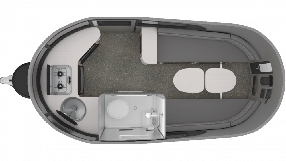 Airstream Basecamp X Floor Plan - 2020