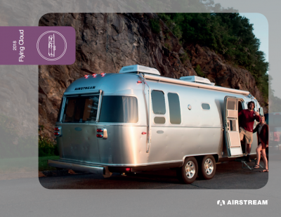 2018 Airstream Flying Cloud Brochure Cover