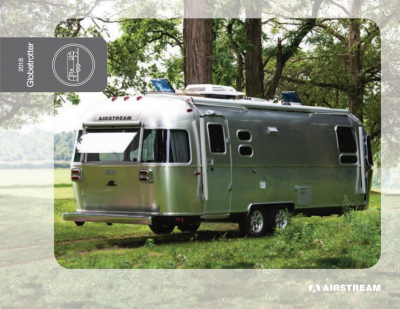 2018 Airstream Globetrotter Brochure Cover