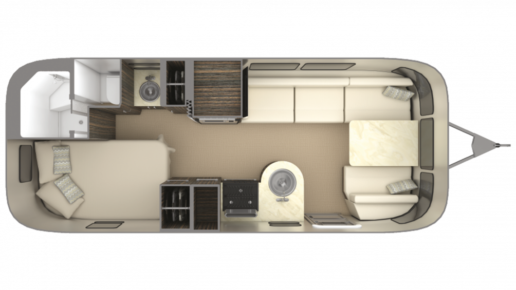 2019 Airstream International Signature 23CB Floor Plan Img