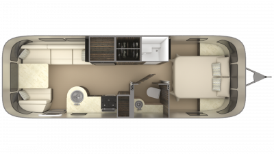 2019 Airstream International Signature 27FB Floor Plan Img